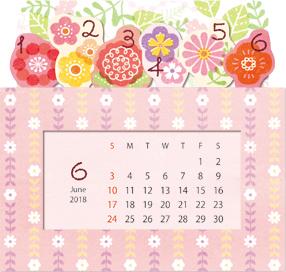 BOXメモカレンダー(2018年版)