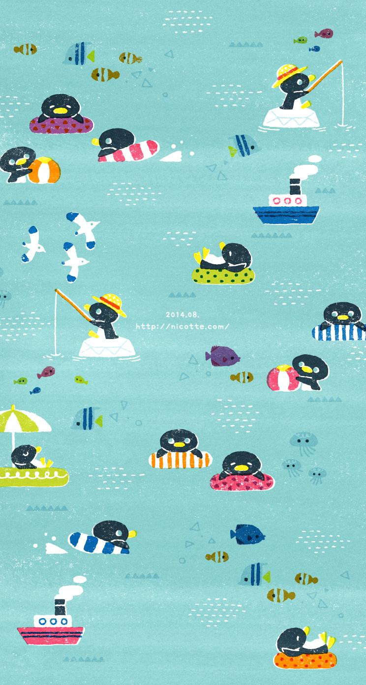 ペンギンさんの夏