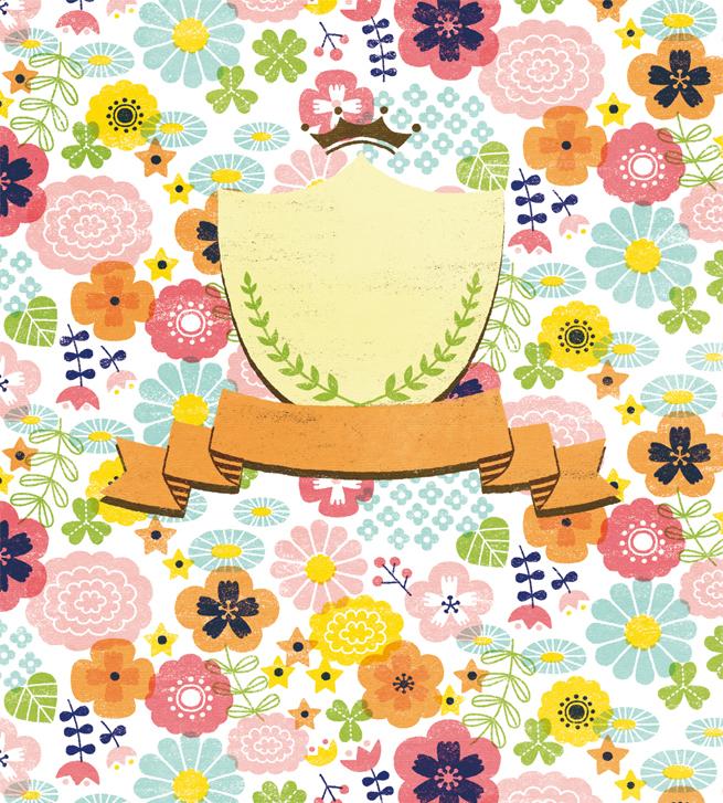二つ折り色紙(ミニ)